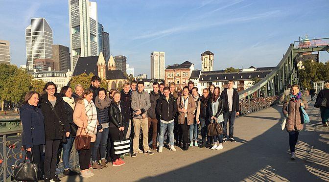 Studienfahrt Finanzmetropole Frankfurt