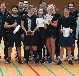 Siegermannschaft BS11-Cup