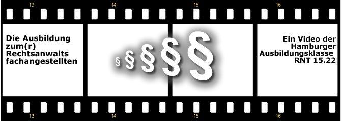 Rechtsanwaltsfachangestellte(r) – ein Schülervideo