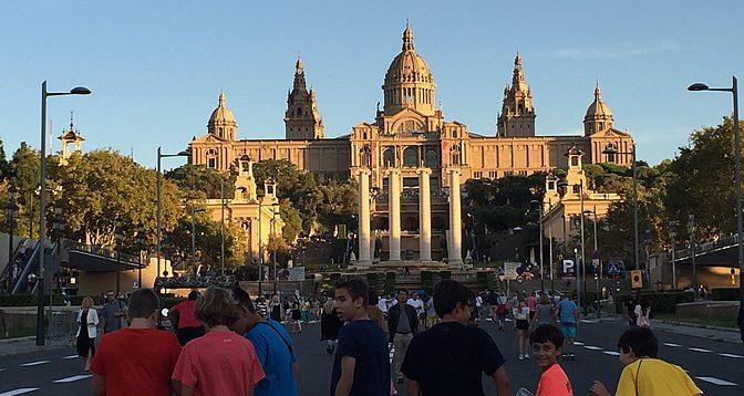 Unvergessliche Klassenreise nach Barcelona