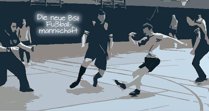 Die neue BS11-Fussballschulmannschaft