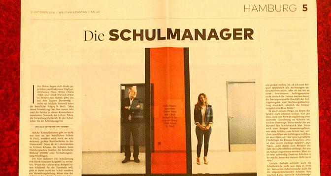 """BS11-Verwaltungsleitung in der """"Welt am Sonntag"""""""