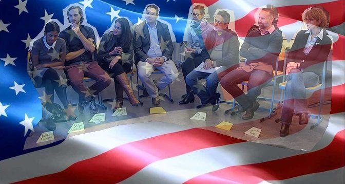 Besuch von Politik-Experten aus den USA