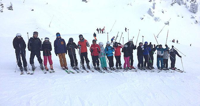 Skiprojekt Hochzillertal Januar 2017