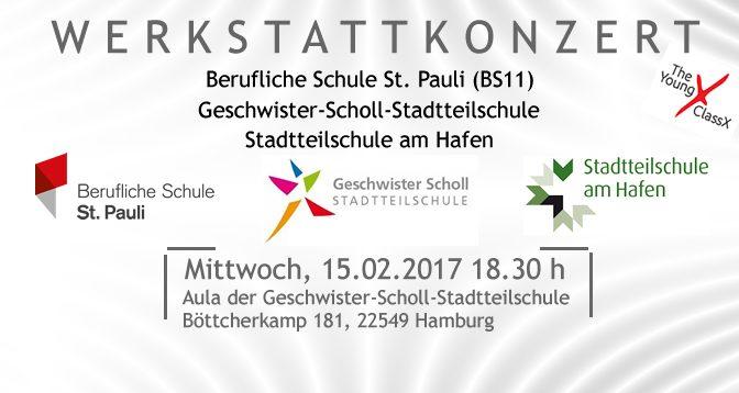 Chorkonzert The Young ClassX 15.02.2017