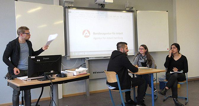 "BS-11 Schülerin im ""Hamburger Abendblatt"""