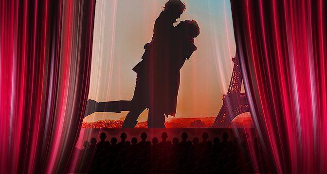 Besuch des English Theatre: April in Paris