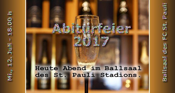 Abiturfeier 2017 | Mi., 12. Juli 2017, 18:00 h