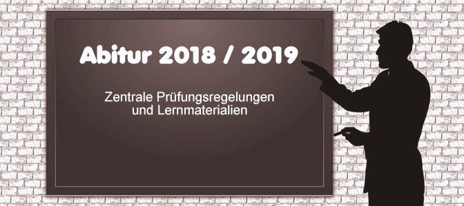Abiturienten 2018 und 2019 – aufgepasst!