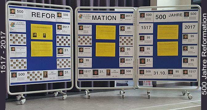 Materialien der BS11 zum Reformationstag