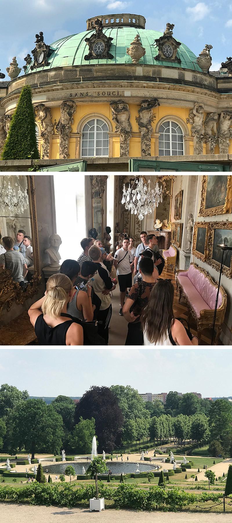 Barocke Pracht in dezenter preußischer Eleganz - das ist Potsdam.